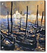 Venice Sunset- Italy Acrylic Print