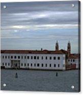 Venice Water Scene Acrylic Print
