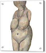 Venus Of Kostenski Acrylic Print