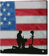 Veterans Day Soldier Acrylic Print