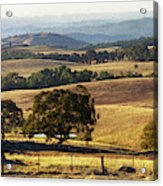 Victoria Countryside Layers Acrylic Print