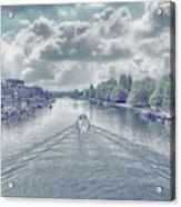 View From Kingston Bridge Acrylic Print