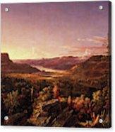 View Of Greenwood Lake, New Jersey Acrylic Print