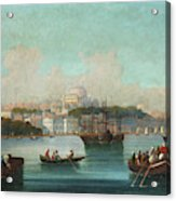 View Of Istanbul - 1 Acrylic Print