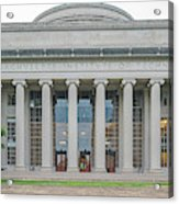 View Of Massachusetts Institute Acrylic Print