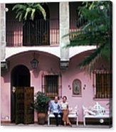 Villa At Cuernavaca Acrylic Print