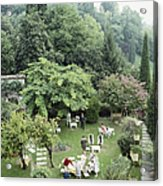 Villa Cipriani Acrylic Print