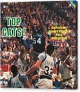 Villanova University Ed Pinckney, 1985 Ncaa National Sports Illustrated Cover Acrylic Print