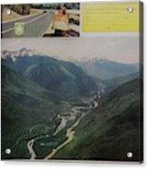 Vintage Canada Advertisement Acrylic Print