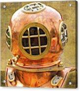 Vintage Diving Helmet Acrylic Print
