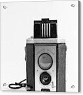 Vintage Eastman Kodak Brownie Reflex Synchro Model Film Camera Acrylic Print