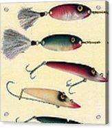 Vintage Fishing Lures Acrylic Print
