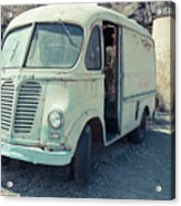 Vintage International Harvester Metro Delivery Van Acrylic Print