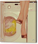 Vintage Laundry Acrylic Print