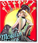 Vintage Poster - Burlesque Movie Acrylic Print