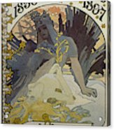 Vintage Poster - L'illustration Acrylic Print