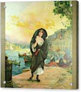 Vintage Poster - Malta Acrylic Print