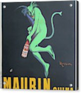 Vintage Poster - Maurin Quina Acrylic Print