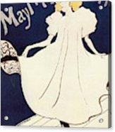 Vintage Poster - May Milton Acrylic Print