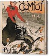 Vintage Poster - Motocycles Comiot Acrylic Print