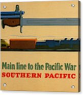 Vintage Poster - Southern Pacific Acrylic Print