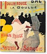 Vintage Poster - Toulouse Lautrec Acrylic Print