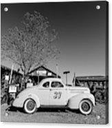 Vintage Race Car Gold King Mine Ghost Town Acrylic Print