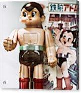 Vintage Robot Astro Boy Acrylic Print