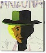 Vintage Travel Poster Arizona 3 Acrylic Print