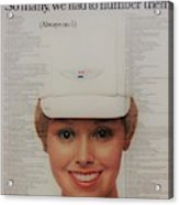 Vintage United Airlines Ad Acrylic Print