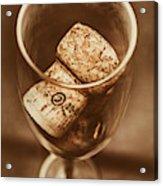 Vintage Vino Acrylic Print
