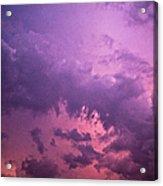 Violet Sky Acrylic Print