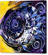Violet Tri Fish Acrylic Print
