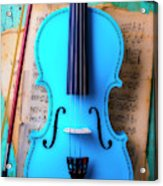 Violin Blues Acrylic Print