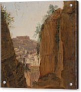 Virgil S Tomb  Naples  Acrylic Print