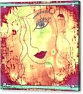 Visage De Lumiere Acrylic Print