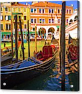 Visions Of Venice Acrylic Print