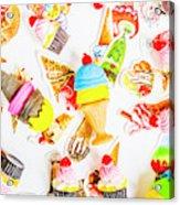Wall Of Sweetness Acrylic Print