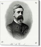 Walter Q. Gresham Acrylic Print