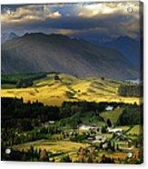 Wanaka, New Zealand Acrylic Print