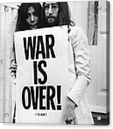 War Is Over Acrylic Print