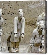 Warriors Of Pit 2, Xian, China Acrylic Print