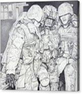 Wartime Loyalty Acrylic Print