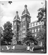 Washington And Jefferson College Old Main Acrylic Print