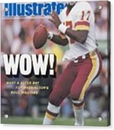 Washington Redskins Doug Williams, Super Bowl Xxii Sports Illustrated Cover Acrylic Print