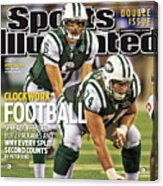 Washington Redskins V New York Jets Sports Illustrated Cover Acrylic Print