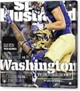 Washington Why The Huskies Can Win It, 2016 College Sports Illustrated Cover Acrylic Print