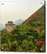 Watch Tower, Great Wall Of China Acrylic Print
