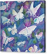 Watercolor - Butterfly Design Acrylic Print