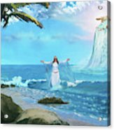 Waves Of Mercy Acrylic Print
